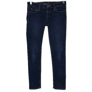 American Eagle Skinny Jeans Low Rise 4 short